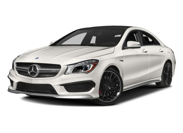 4dr Sdn AMG CLA45 4MATIC Hero Shot