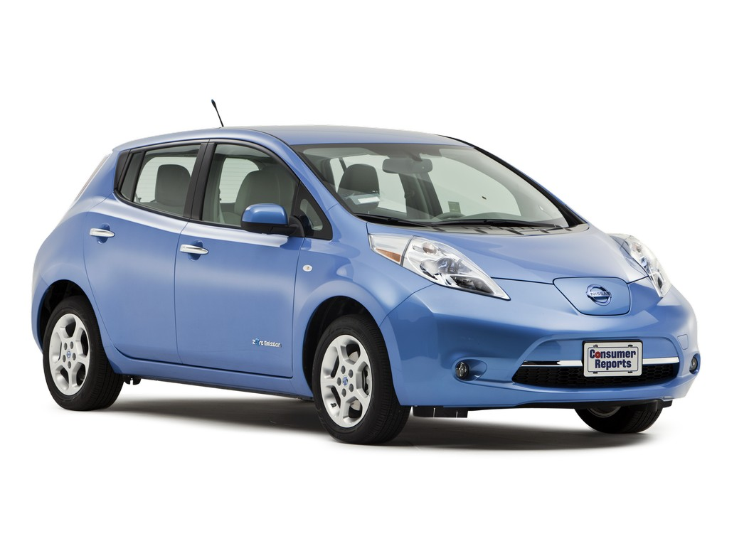 2016 nissan leaf reviews and ratings from consumer reports. Black Bedroom Furniture Sets. Home Design Ideas