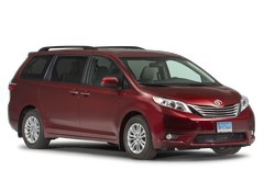 2017 Toyota Sienna Pricing