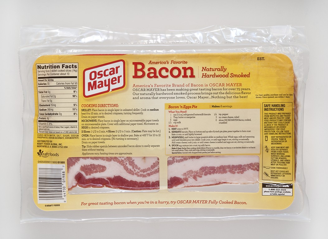 328304 How Packaging Covers Up The Truth About Bacons Fatty Glory on oscar mayer bologna