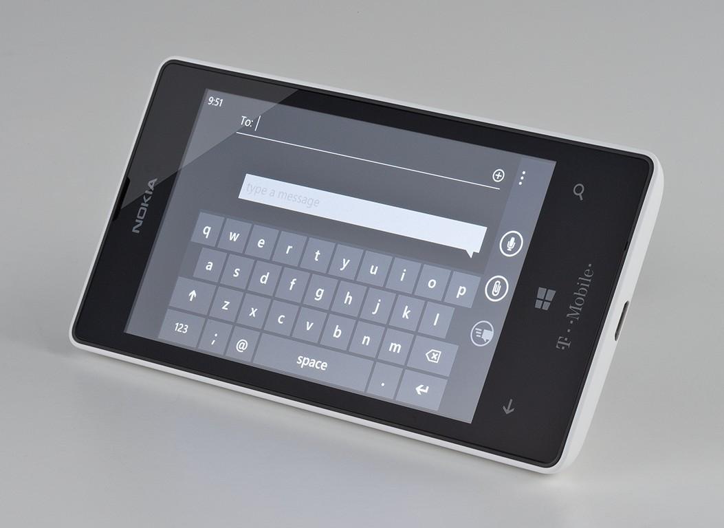 Nokia Lumia 521 Front Camera