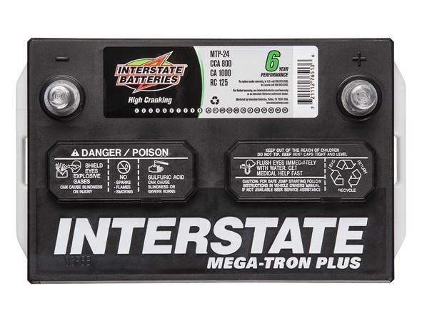 Car Battery Price: Interstate Mega-Tron Plus MTP-24 Car Battery Prices
