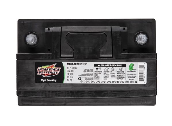 Car Battery Price: Interstate Mega-Tron Plus MTP-48/H6 Car Battery Prices