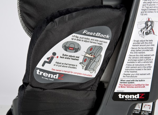 Trendz Fastback  In  Car Seat