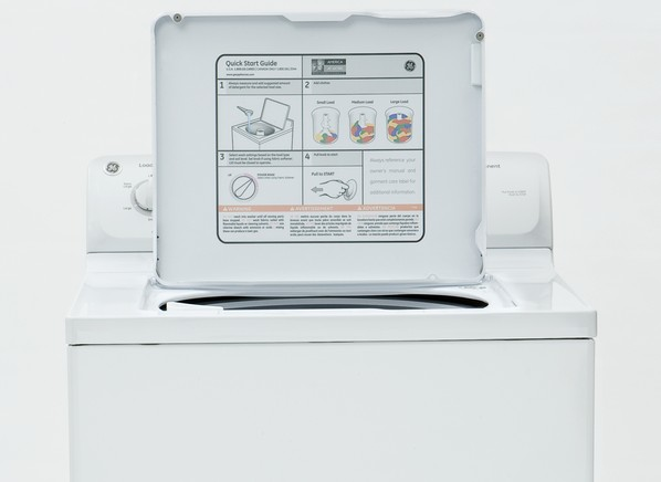 ge washing machine agitator comes