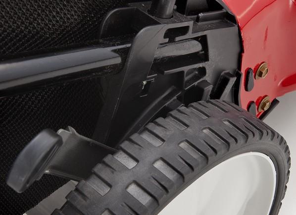 yard machine 21 high wheel push mower review