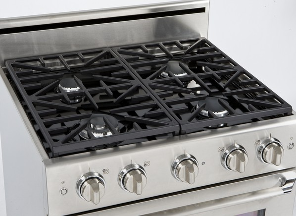 frigidaire gallery 36 electric cooktop with downdraft