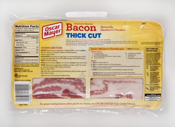recipe: how many calories are in oscar mayer turkey bacon [14]