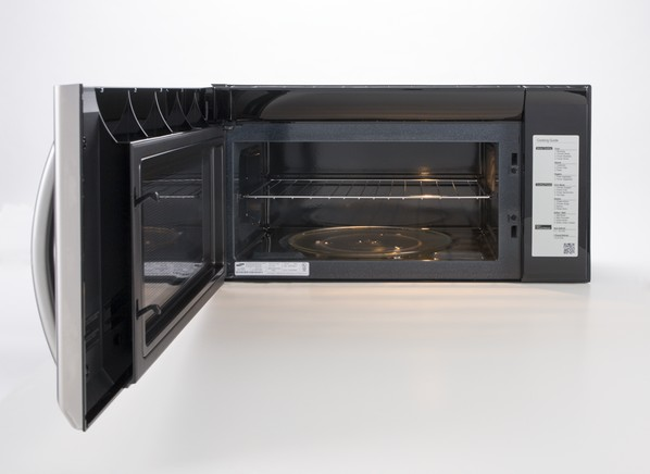 Guide over microwave consumer range