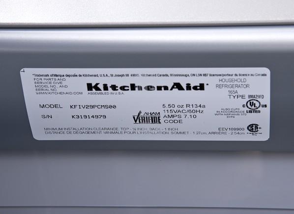Kitchenaid Kfiv29pcms Refrigerator Consumer Reports