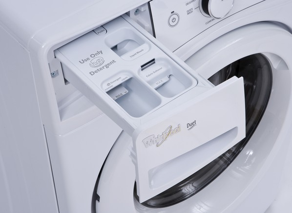 whirlpool front end loader washing machine