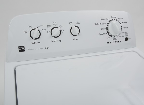 how to clean fabric softener dispenser in kenmore washing machine