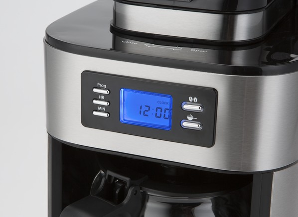 Consumer Guide Coffee Maker : Consumer Reports - Gourmia GCM4500 with Built in Grinder