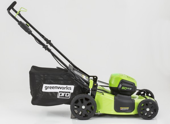 greenworks mo60l410 item 725987 lowe 39 s lawn mower tractor consumer reports. Black Bedroom Furniture Sets. Home Design Ideas