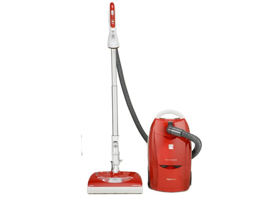 Store Display Demo Kenmore Canister HEPA Vacuum 21714 Red