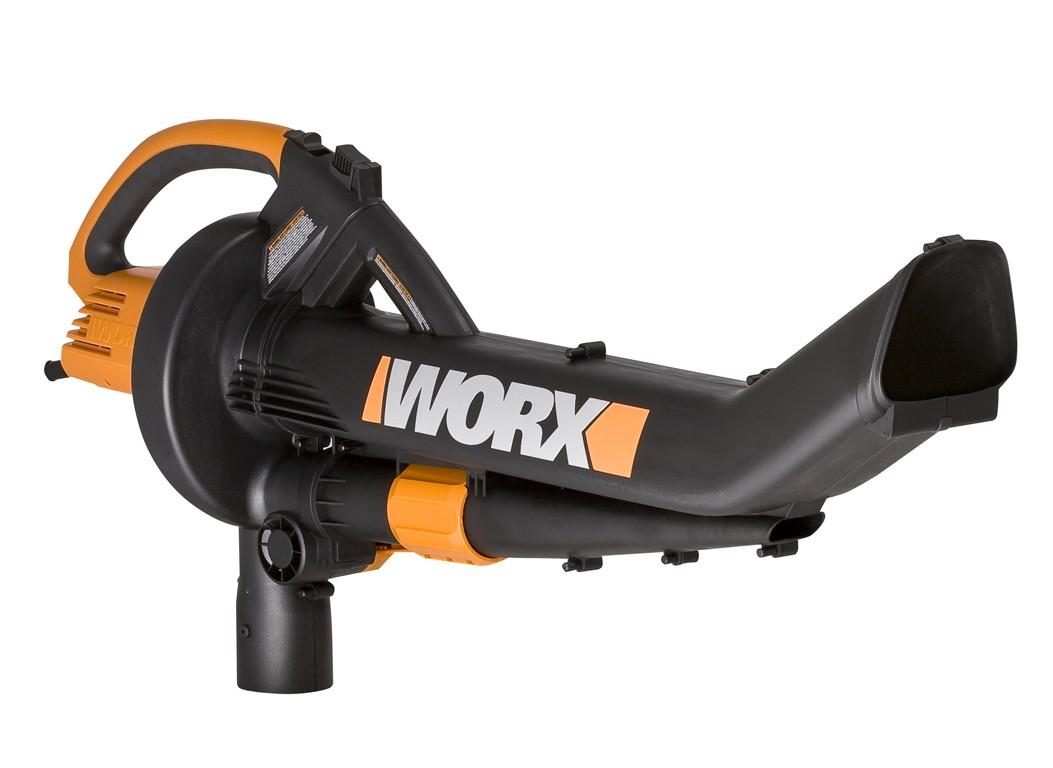 Worx Leaf Blower And Vacuum : Wg worx trivac in leaf blower mulcher vacuum ebay