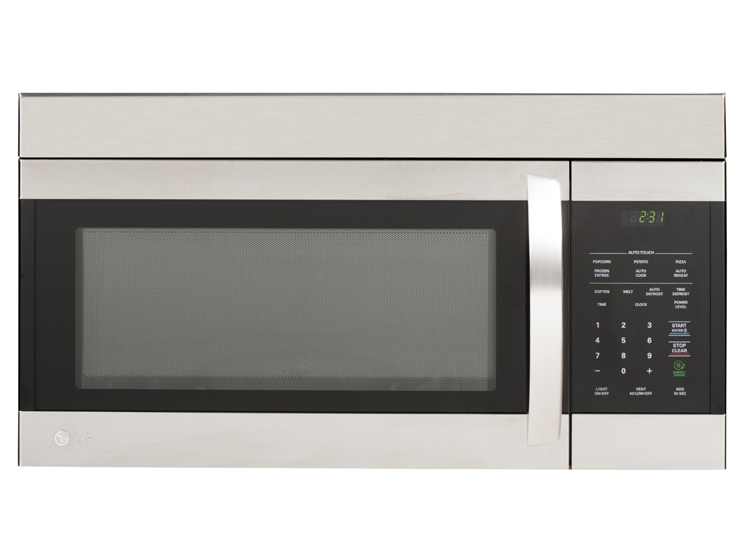 LG LMV1683ST 1.6 Cubic Ft. Non-Sensor Over the Range Microwave Oven Stainless Steel at Sears.com