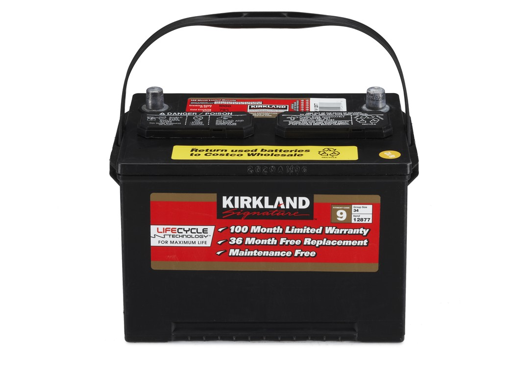 Kirkland car battery cost nz