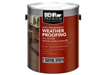Behr-Premium Semi-Transparent Weatherproofing Wood Stain (Home Depot)-Wood stain-image