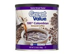 Great Value (Walmart)-100% Colombian-Coffee-image