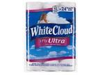 White Cloud-3-Ply Ultra (Walmart)-Toilet paper-image