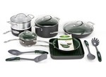OrGreenic-Hard Anodized 16 pc-Kitchen cookware-image
