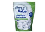 Great Value-Powder Pacs (Walmart)-Dishwasher detergent-image