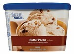 Great Value-Butter Pecan (Walmart)-Ice cream & frozen yogurt-image