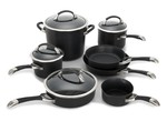 Circulon-Symmetry Hard-Anodized Nonstick 11 pc-Kitchen cookware-image