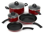 Mainstays-Nonstick 10 pc (Walmart)-Kitchen cookware-image