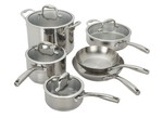 Guy Fieri-Stainless Steel 10 pc-Kitchen cookware-image