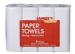 Family Values-Paper Towels (Family Dollar)-Paper towel-image