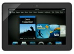 Amazon-Kindle Fire HDX (Wi-Fi, 4G, 16GB)-Tablet-image