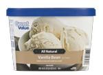 Great Value-All Natural Vanilla Bean (Walmart)-Ice cream & frozen yogurt-image