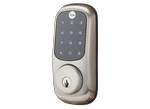 Yale-Real Living Touchscreen Deadbolt YRD220-ZW-619-Door lock-image