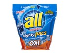All-Mighty Pacs Oxi-Laundry detergent-image