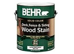 Behr-Solid Color Waterproofing Wood Stain (Home Depot)-Wood stain-image