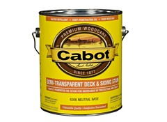 Cabot Semi Transparent Deck Amp Siding Wood Stain Consumer