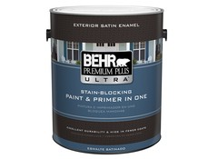 Behr premium plus ultra exterior home depot paint consumer reports for Emerald exterior paint reviews