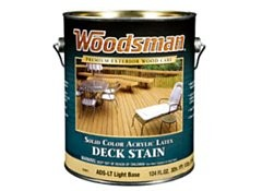 Woodsman Solid Color Deck Stain Wood Consumer Reports