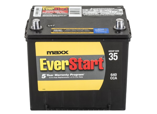 Everstart Maxx 35n North Car Battery Consumer Reports