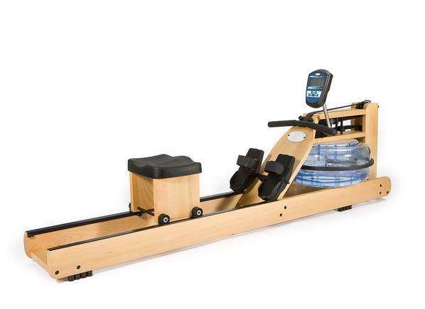 wooden rowing machine