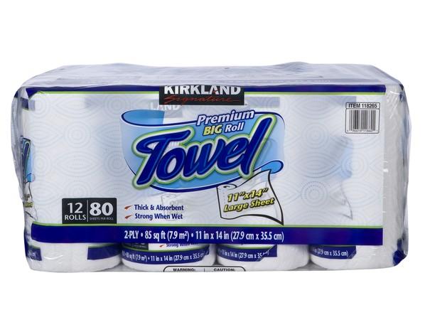 Kirkland Signature Costco Premium Big Roll Paper Towel