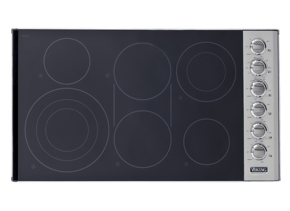 Viking Electric Cooktop ~ Viking vec bsb cooktop wall oven consumer reports