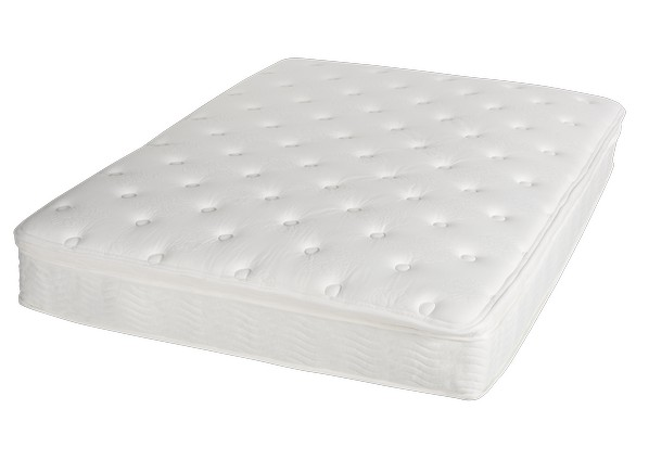 "Night Therapy 12"" Euro Box Top Spring Mattress Consumer"