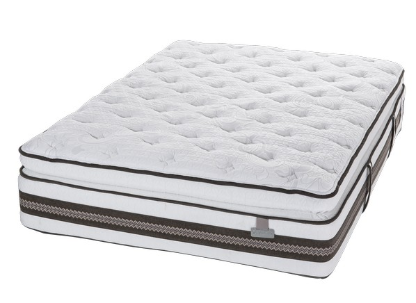 Serta iseries profiles prominence super pillowtop mattress for Best side sleeper pillow consumer report