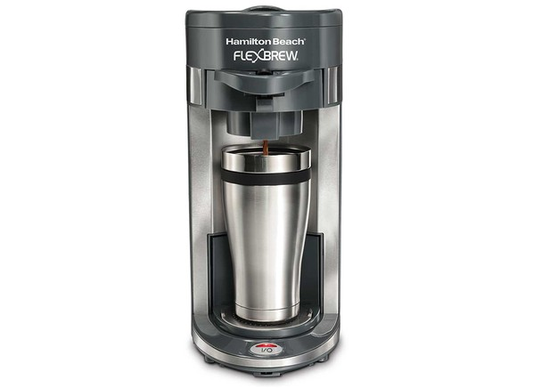 Single Cup Coffee Maker Reviews Consumer Reports : Consumer Reports - Hamilton Beach FlexBrew Single Serve 49963 Specs