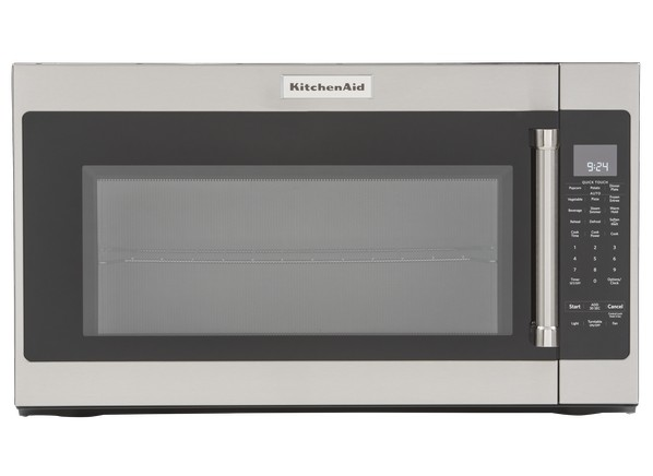 kitchenaid kmhs120ess microwave oven - consumer reports