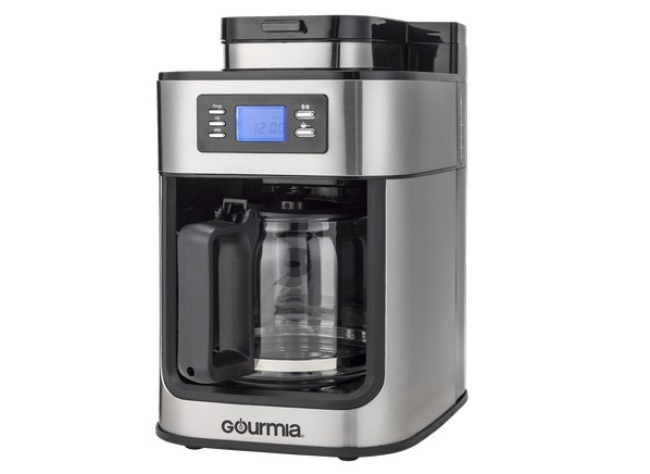 Coffee Maker Built In Filter : Consumer Reports - Gourmia GCM4500 with Built in Grinder