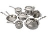 13 piece Stainless Steel tri-ply clad) thumbnail